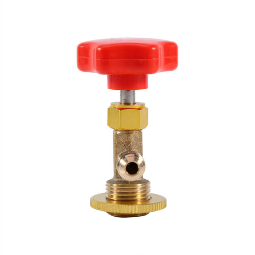 Auto R134a Air Refrigerant AC Can Tap Valve Bottle Opener Tool with Red Cap AP