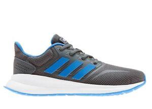 Adidas-RUNFALCON-K-EE4670-Grigio-Sneakers-Donna-Bambini-Ginnastica-Running
