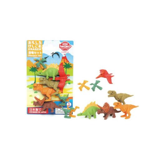 Iwako Puzzle Radiergummi Dinosaurier Dino Radierer Schulbedarf