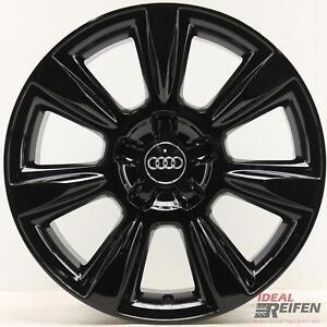 4-Original-Audi-A4-8K-B8-Allroad-Llantas-De-Aleacion-De-17-Pulgadas-8K0601025BL