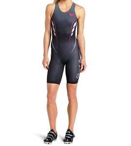 Pearl-Izumi-P-R-O-Triathlon-Sprint-Suit-Black-Cycling-Running-S-M-Womens-270