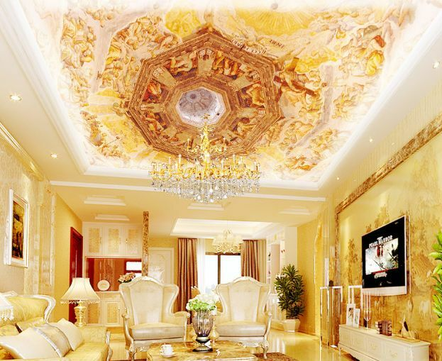 3D 3D 3D Dream Glory 33 Ceiling WallPaper Murals Wall Print Decal Deco AJ WALLPAPER GB 1e8c77