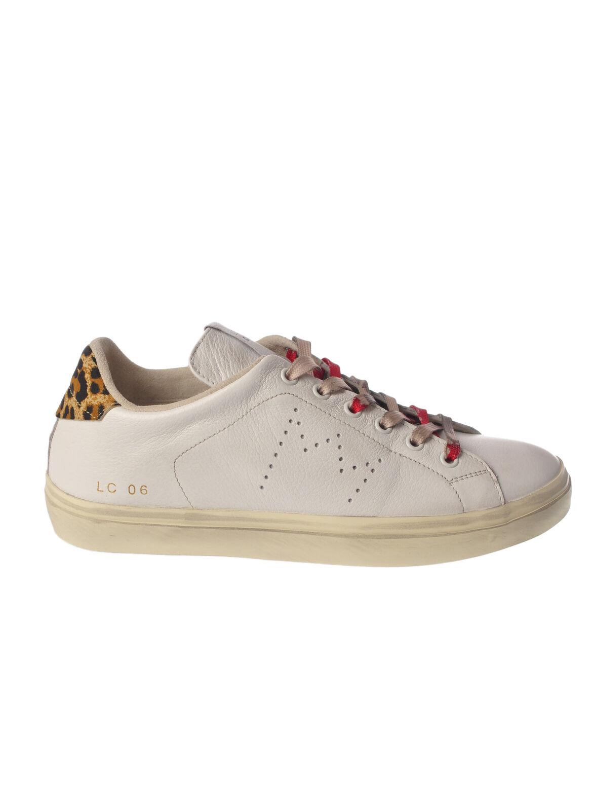 Leather Crown - zapatos-zapatilla de de de deporte-niedrige - Frau - blanco - 4994011D183900  orden en línea