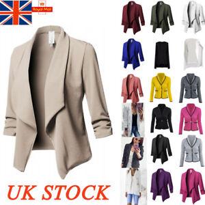 formale da in da a Cardigan blazer casual con manica giacca donna uomo lunga pxfdtY6q