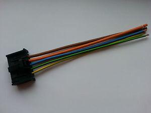 fiat grande punto heater fan motor resistor wiring harness loom plug Blower Motor Wiring Diagram for 2009 Mustang image is loading fiat grande punto heater fan motor resistor wiring