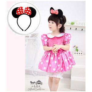 Mouse Ears Bow Headband Hen Nights Women Girls Mickey Party Fancy Dress