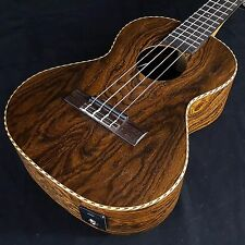New KALA Bocote Butterfly Series Acoustic Electric Tenor Ukulele KA BFTE KABFTE