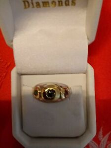 Enchanting-14-Kt-Yellow-Gold-Sterling-Ruby-Sapphire-Emerald-Contempory-Dome