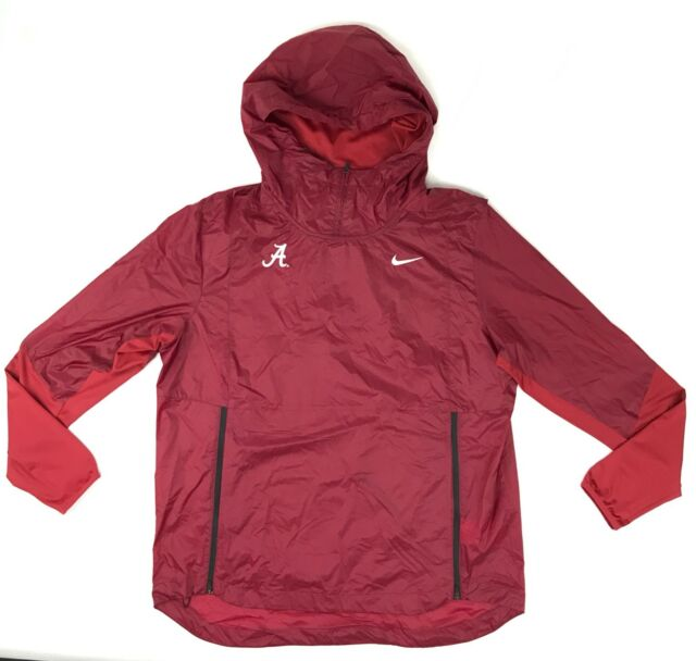 b2ca80e73506 Nike Alabama Crimson Tide Lightweight Fly Rush Jacket Men s L Red 908418   115