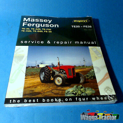 60775 Workshop Manual Massey Ferguson TEA20 TEF20 FE35 Tractor MF 35 4-Cylinder