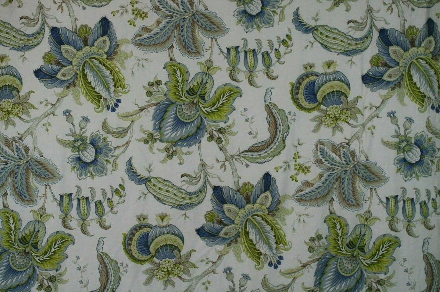 Cynthia Rowley 100% Cotton Reversible Queen Floral Comforter - 92 x 96 No Shams