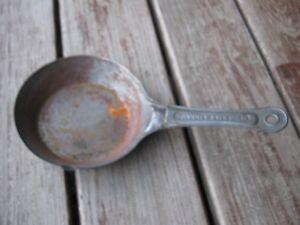 Original Vintage Primitive Rusty Savory Fry Pan 00 Metal