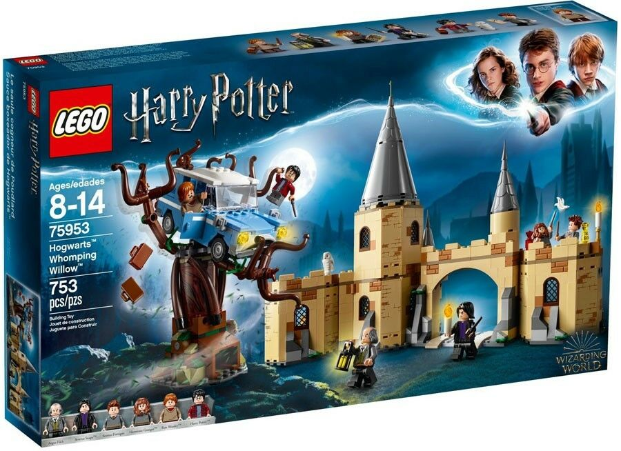 LEGO Harry Potter Hogwarts Whomping Willow Willow Willow Set 8bbfa5