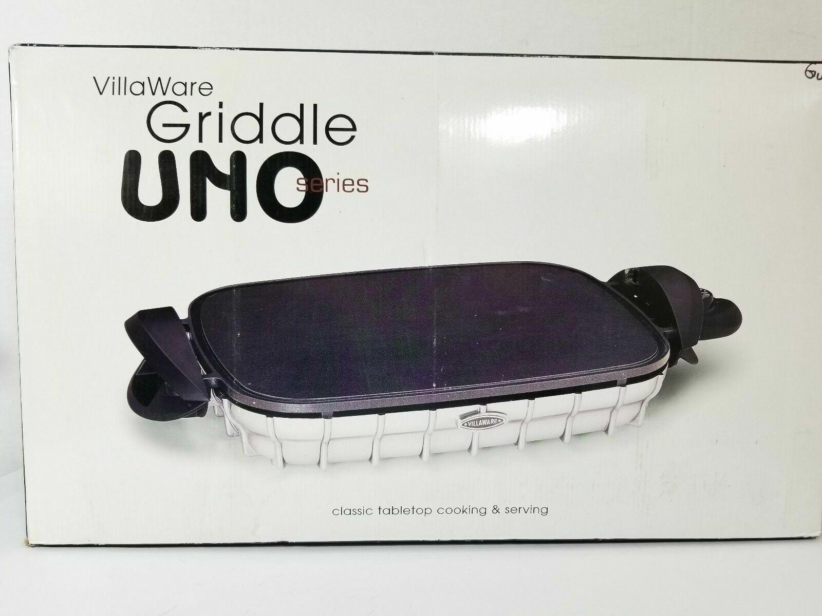 Nouveau Villaware Uno Series Crêpière modèle 2050 avec Métal Classique Bas