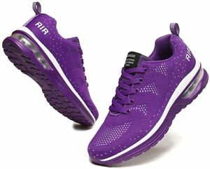 Women-039-s-Air-Cushion-Sneakers-Walking-Casual-Running-Shoes-Gym-Sport-Breathable