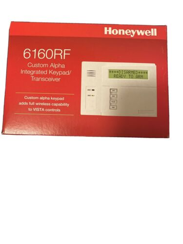 Honeywell//Ademco 6160RF Custom Alpha Integrated Keypad//Transceiver NEW/&SEALED