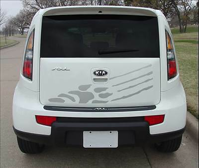 2010-2013 Cat Hamster Hood Rear Stripe Decal Graphic Vinyl fits Kia Soul by AGP