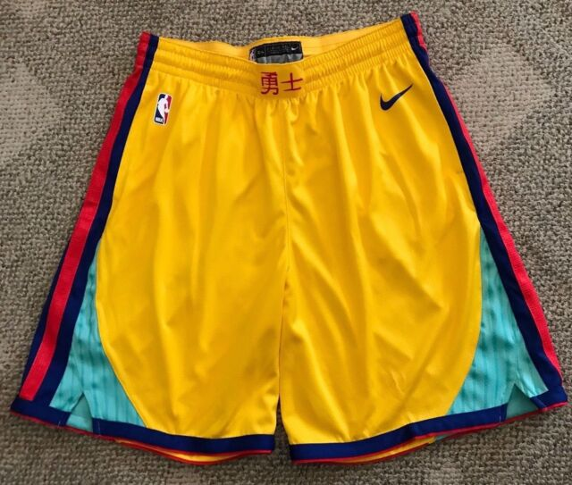 d65e4a92b Frequently bought together. Nike NBA Golden State Warriors City Edition  Swingman Basketball Shorts ...