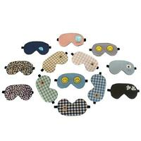 Fashion Eye Mask Sleep Pillow Cute Padded Cushion Shade Cover Travel Gel Pack