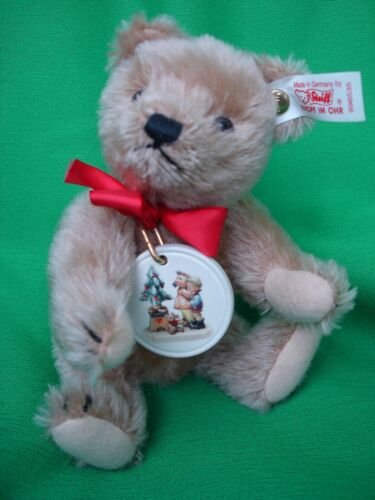 996536 Lim 20.000 Goebel Keramik Medaillon Nr Steiff-Teddy mit Hummel