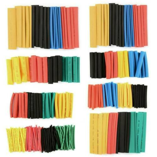 530x Assortment 2:1 Heat Shrink Wire Wrap Tubing Electrical Connection Cable Set