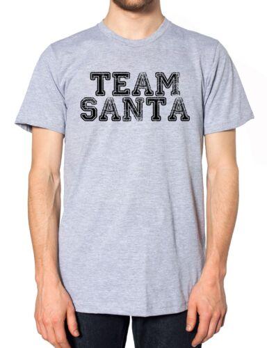 Team Santa T Shirt Christmas Jumper Helper Little Kids Present Gift Chef Cook