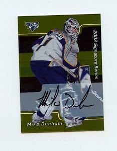 01-02-BE-A-PLAYER-BAP-SIGNATURE-AUTOGRAPH-AUTO-GOLD-93-MIKE-DUNHAM-60860