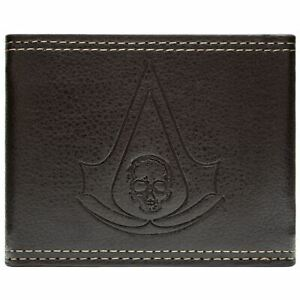 Ubisoft-Assassins-Creed-Black-Flag-Braun-Portemonnaie-Geldborse