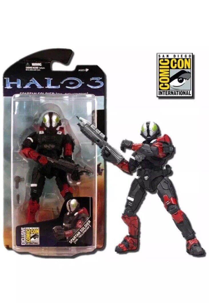 Halo 3   Spartan Soldier Eva Hellspartan SDCC 2008 Exclusive Mc Farlane giocattoli nuovo  vendita calda