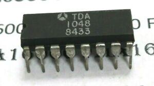 TDA1048 DIP16 Amplificateur FI AM + controle tonalite  ORIGINAL ST-THOMSON