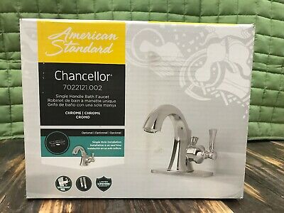 American Standard Electronic Touch Faucet 6058105.002  Chrome W