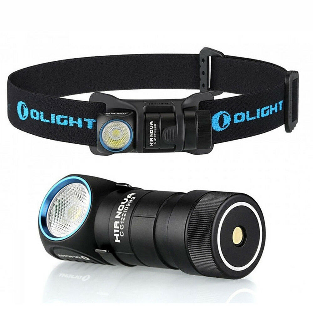 Headlamp Flashlight Olight H1R Nova 600 Lumen USB Head Torch Natural White LED