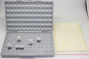 Business & Industrial Aidetek Box-all-144 Smd Smt резистор-конденсатор хранения организатор 0805 0603 Sophisticated Technologies