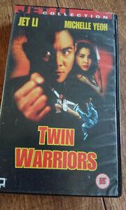 TWIN-WARRIORS-Jet-Li-Michelle-Yeoh-PAL-VHS-Video-1993-Martial-Arts-Movie