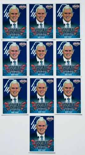 Decision 2016 2020 VP Mike Pence Future Stars Trading Card 10-Pack #107