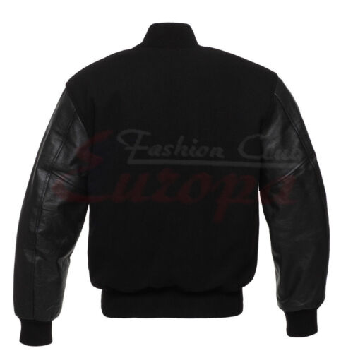 Baseball premium quality Varsity Wool Letterman Jacket with Real Leather Sleeves
