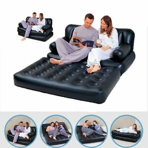 Portable-Camping-Bed-Inflatable-Sofa-Leather-Folding-Multi-Functional-Furniture