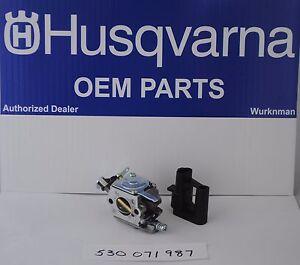 Husqvarna OEM 530071987 Carburetor C1Q-W29E for model 136 ...