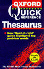 The Oxford Quick Reference Thesaurus by Oxford University Press (Paperback, 1998)