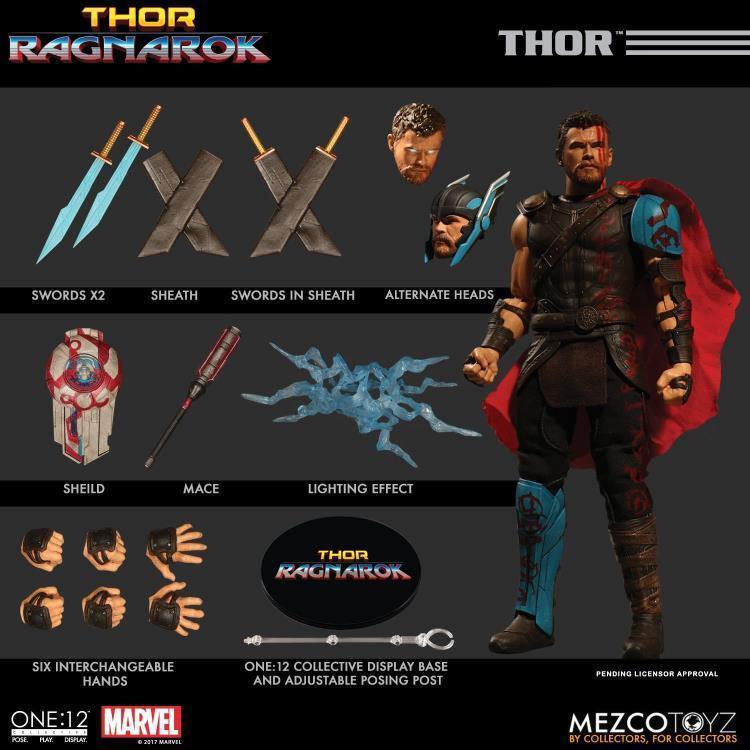 Thor ragnarök thor  12 kollektive action - figur