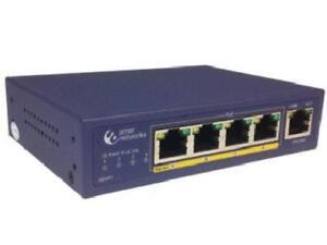Amer-5-Port-10-100-Desktop-Switch-With-4-X-10-100-Poe-802-3af-5-Ports