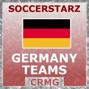 CRMG SoccerStarz GERMAN CLUB & NATIONAL TEAMS (like MicroStars)