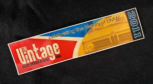 The Vintage 2012 sticker limited quantities!