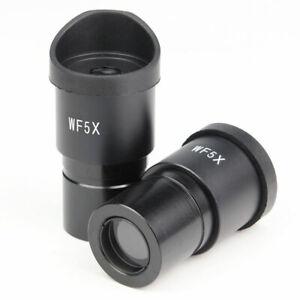 5X Universal Stereo Microscopio Oculare 30mm Lente Ottico con protezioni in gomma Eye