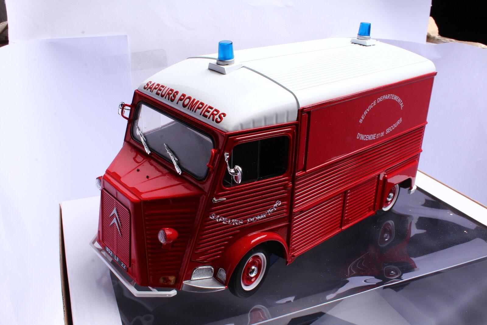 Solido s1850013 CITROËN Type HY pompier 1969 1 18 OVP