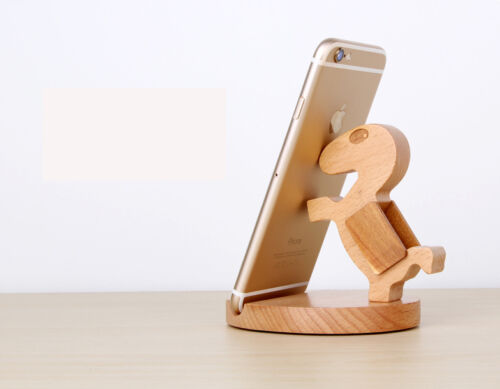 Wooden phone holder iPhone table stand for iPad air iPad air 2 iPad 2 3 iPhone 4