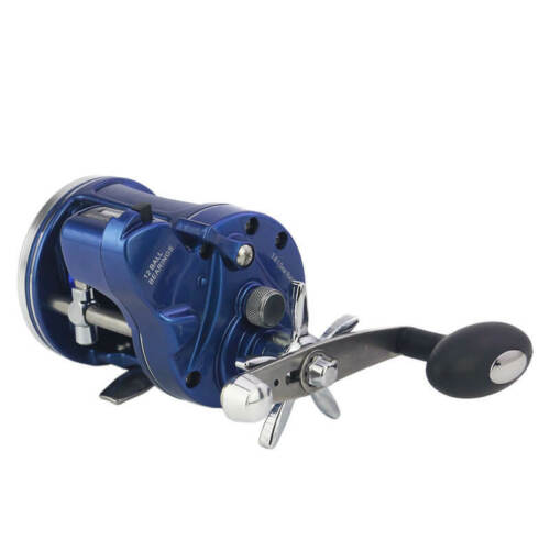 12 BB R//L Hand Bait Casting Fishing Reel Rod Line Drum Trolling Counter Wheel
