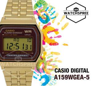 Casio-Digital-Watch-A159WGEA-5D-AU-FAST-amp-FREE