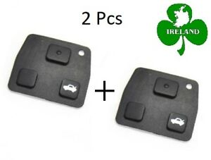 2-Pcs-Replacement-Remote-Key-Fob-Silicon-Rubber-Pads-For-Toyota-Key-2-3-Buttons