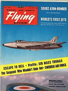 Details about RAF FLYING REVIEW JULY 54 DOWNLOAD: BOACs THOMAS/MODEL PLANS  'ROGUE'/ PINUP